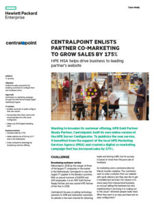 Case study - HPE / Centralpoint